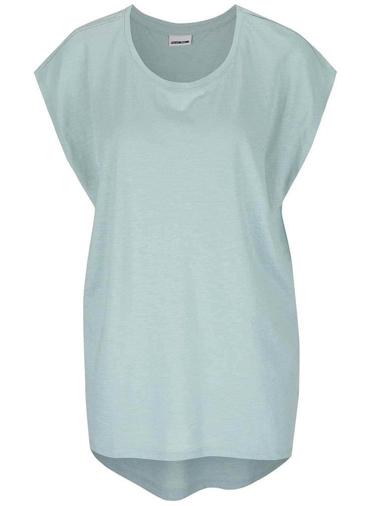 Mentolové volné tričko Noisy May Mathilde