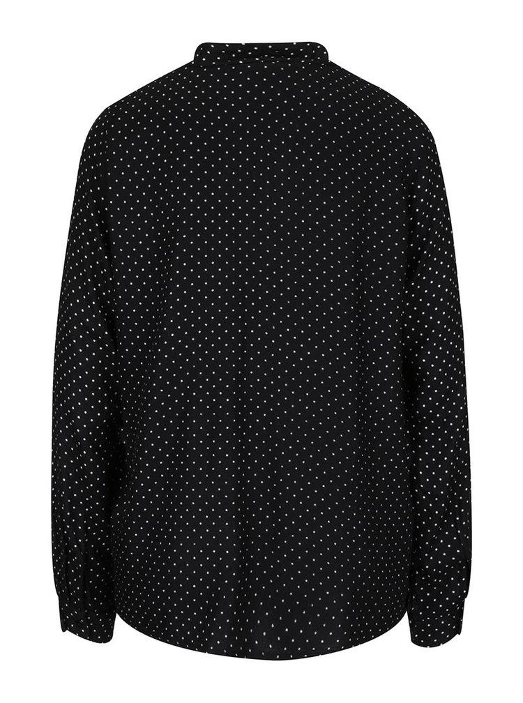 Bluza neagra VERO MODA Sally cu model