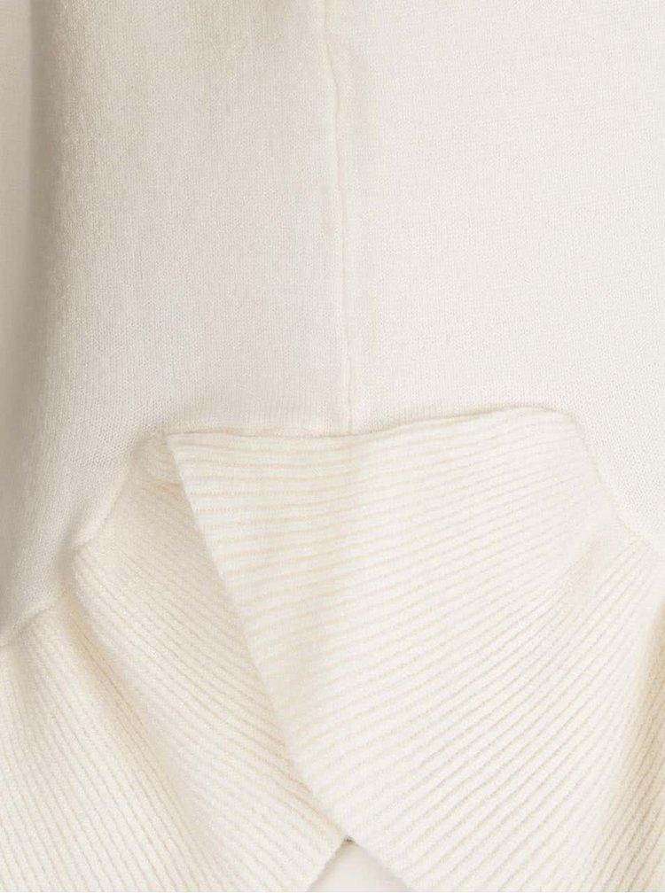 Krémový svetr s nařaseným lemem VERO MODA Annika