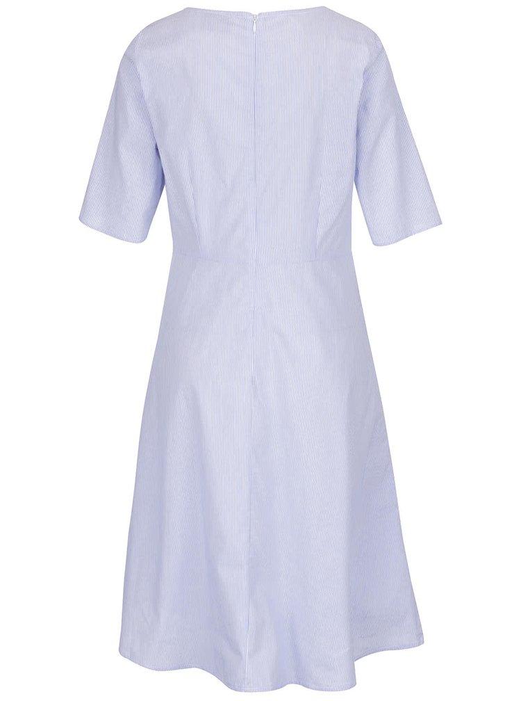 Bílo-modré pruhované šaty VERO MODA Anthea