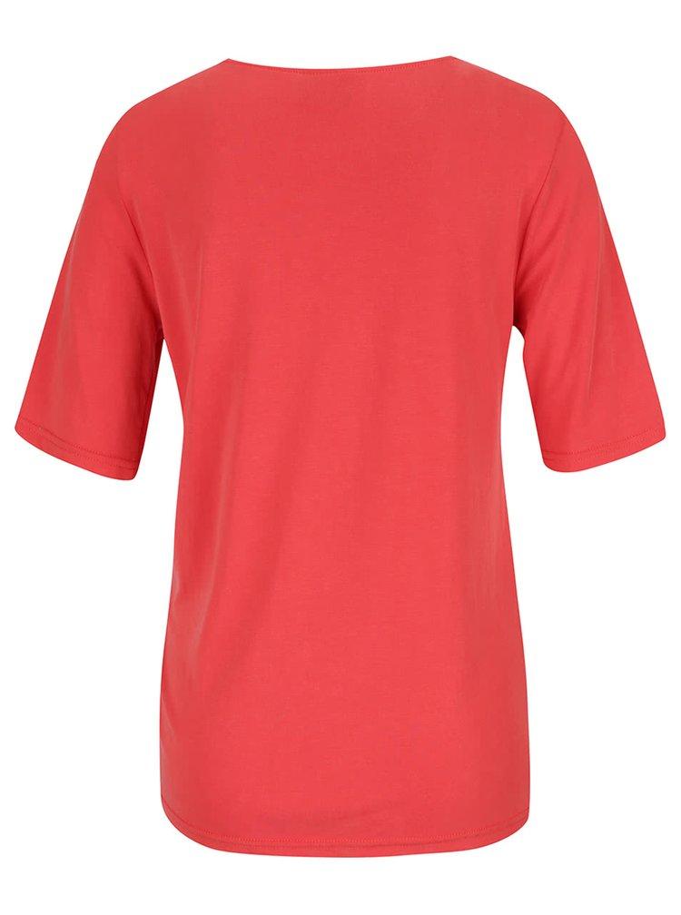 Červený top VERO MODA Grey
