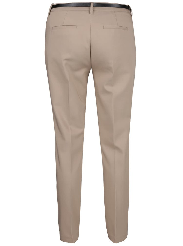 Pantaloni bej VERO MODA New Roos