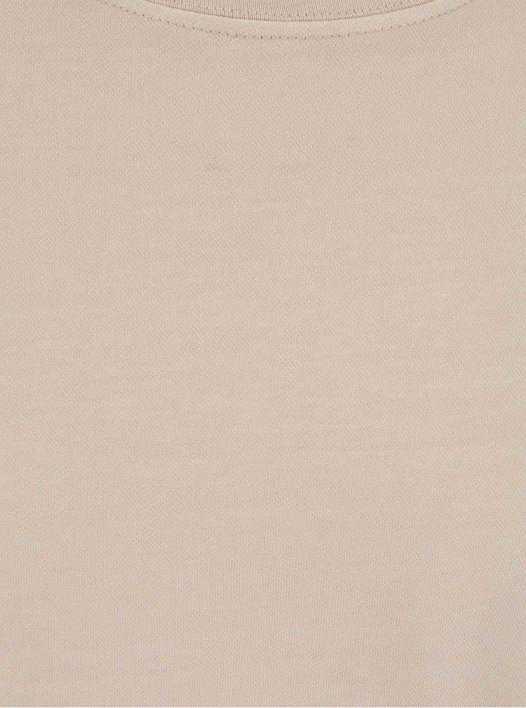 Béžová mikina Shine Original
