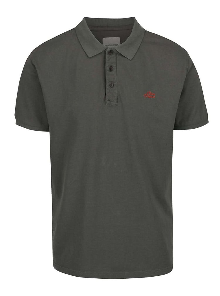 Khaki polo triko Shine Original