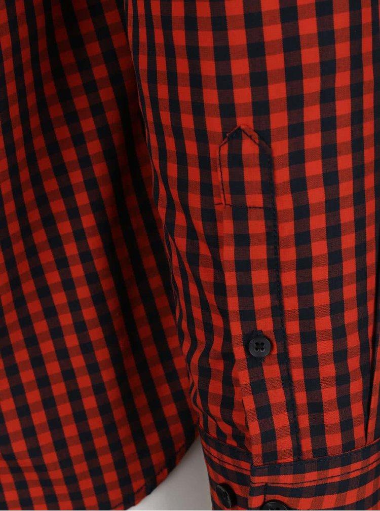 Cămașă roșie în carouri Shine Original