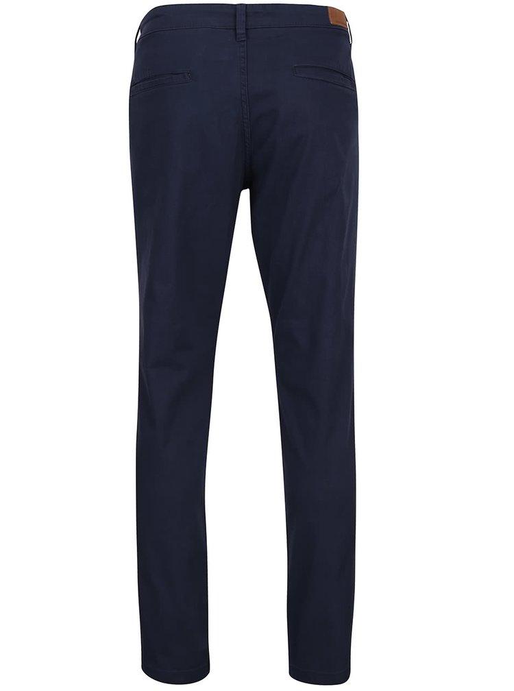 Tmavě modré chino kalhoty Shine Original