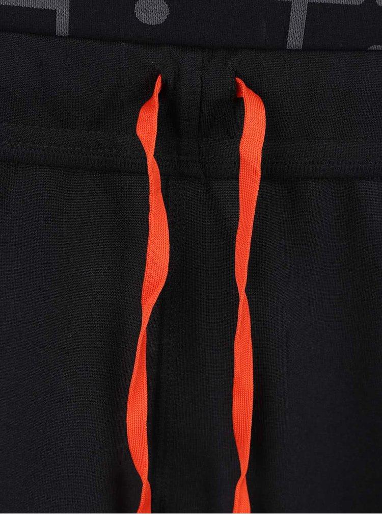 Černé elastické sportovní tepláky Jack & Jones Lift
