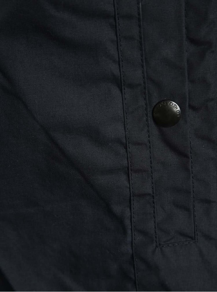 Tmavě modrá šusťáková bunda Jack & Jones Liam