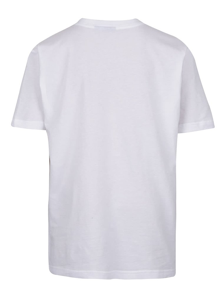 Bílé pánské triko s kapsou adidas Originals Panel