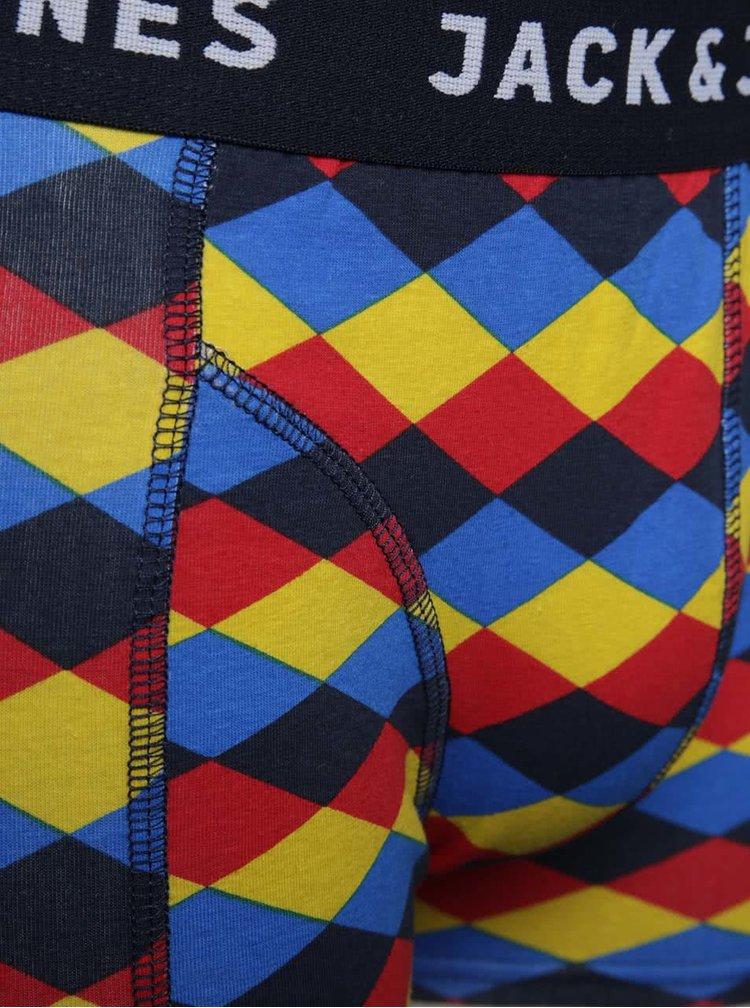 Set 3 perechi boxeri multicolori Jack&Jones