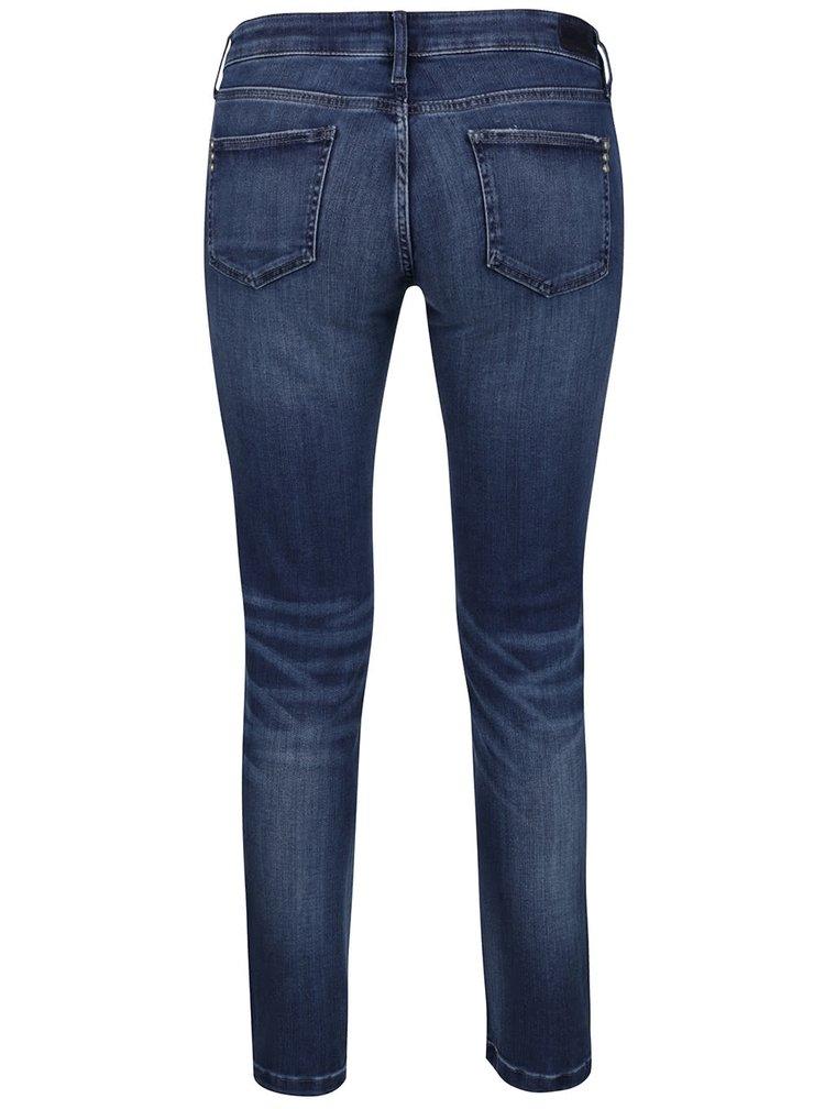 Tmavě modré super skinny džíny Rich & Royal