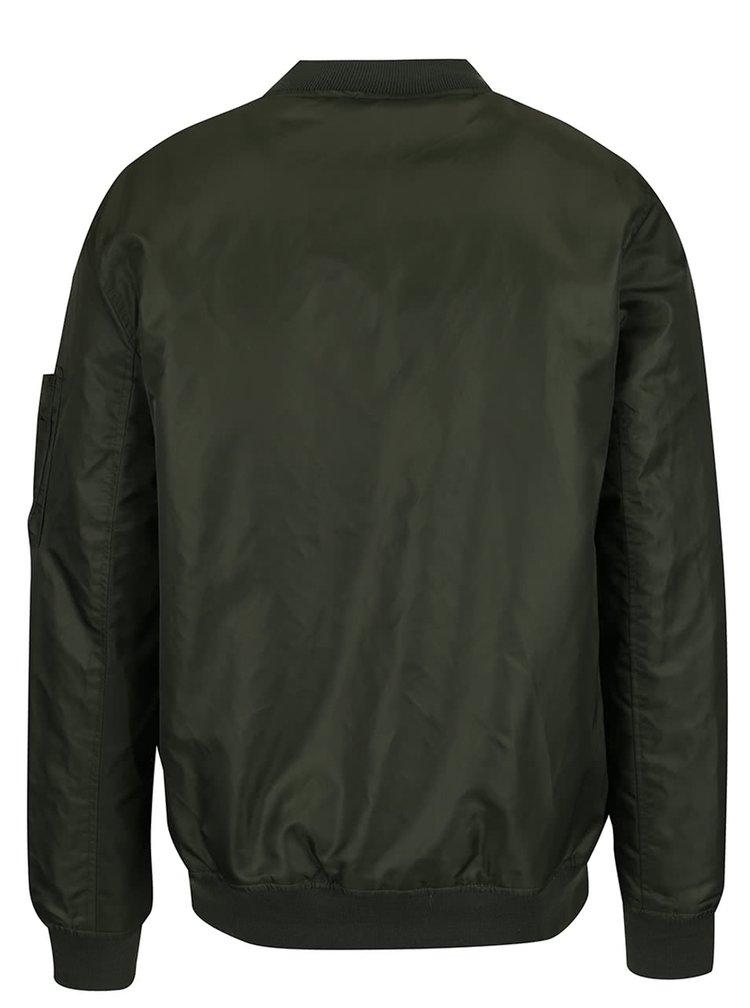 Khaki bomber Burton Menswear London