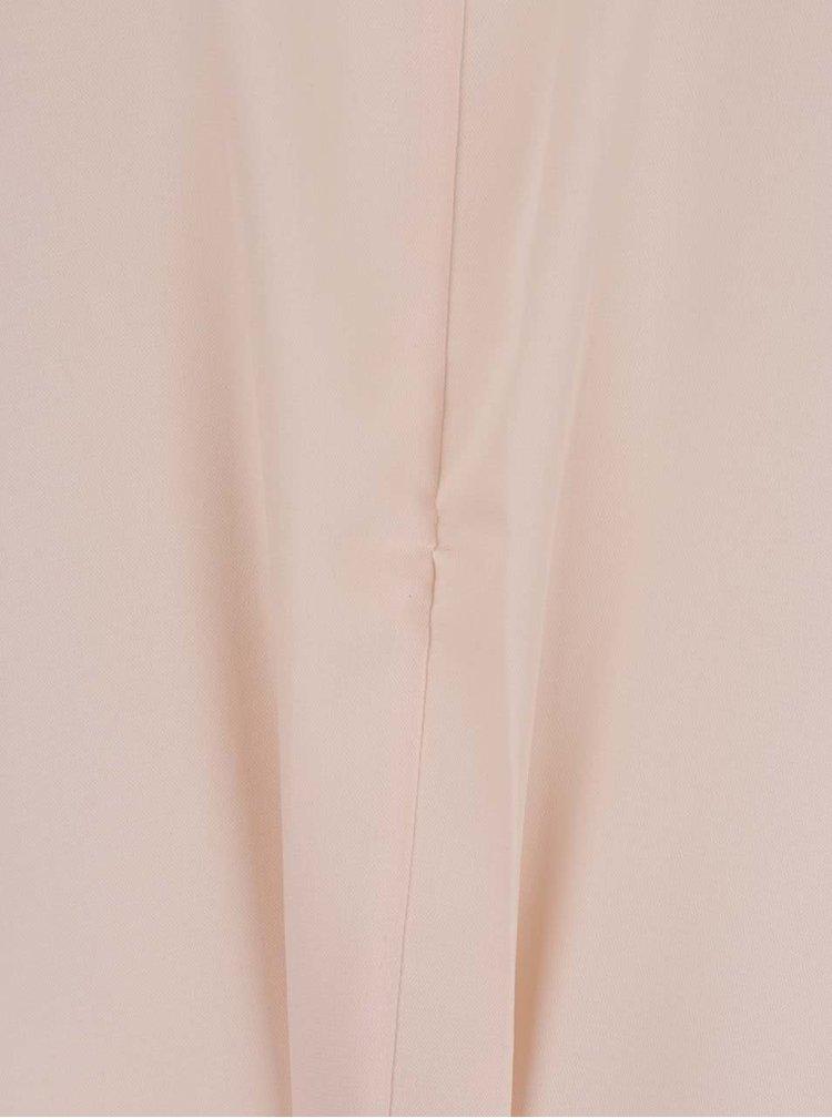 Starorůžová volná halenka s uzlem VERO MODA Una