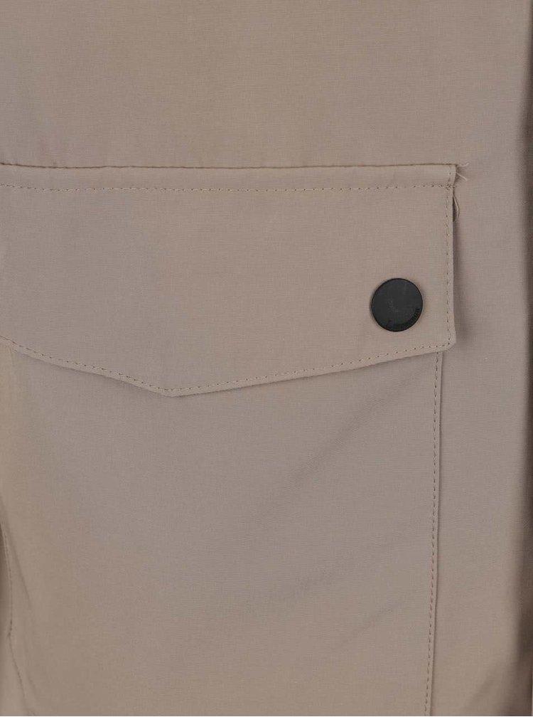 Béžová bunda s kapucí Lindbergh