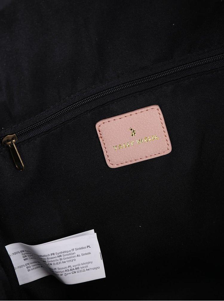 Ružový batoh so zipsom TALLY WEiJL