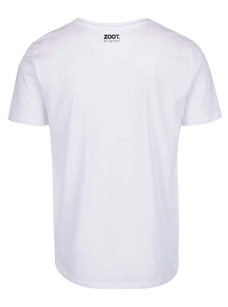 Tricou alb pentru bărbaţi ZOOT Original Older