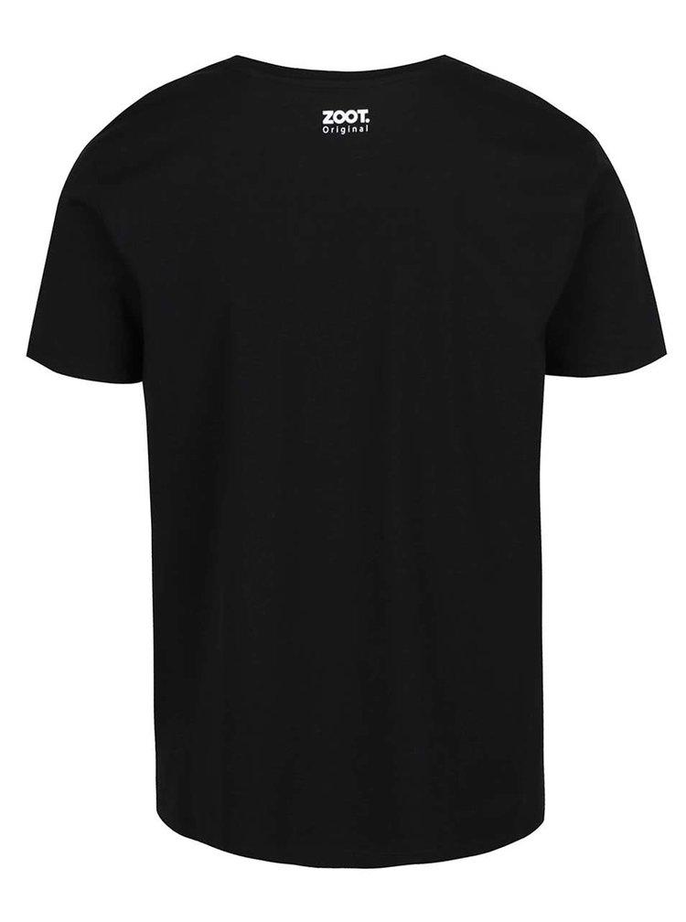 Černé pánské tričko ZOOT Originál Srdcař