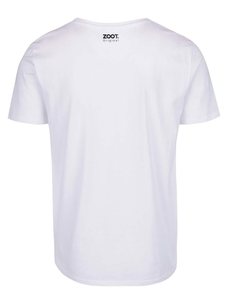 Bílé pánské tričko ZOOT Originál Do všeho dávám srdíčko