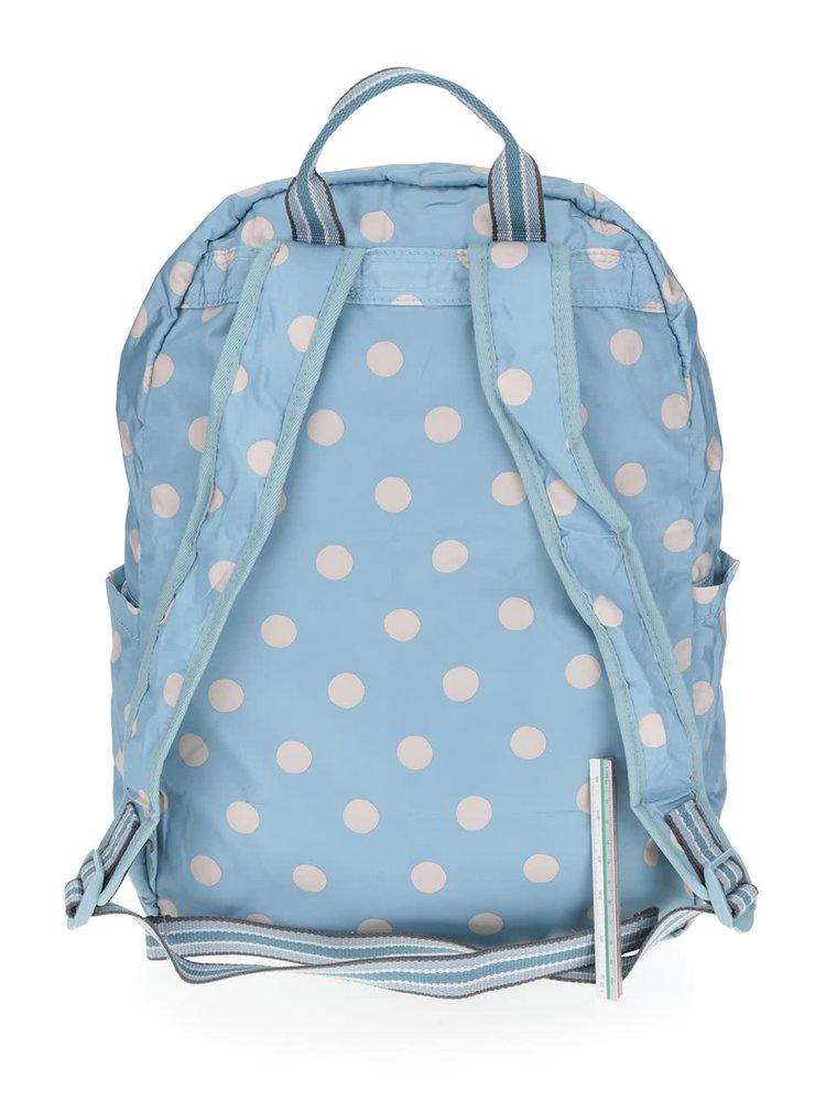 Světle modrý puntíkovaný batoh Cath Kidston