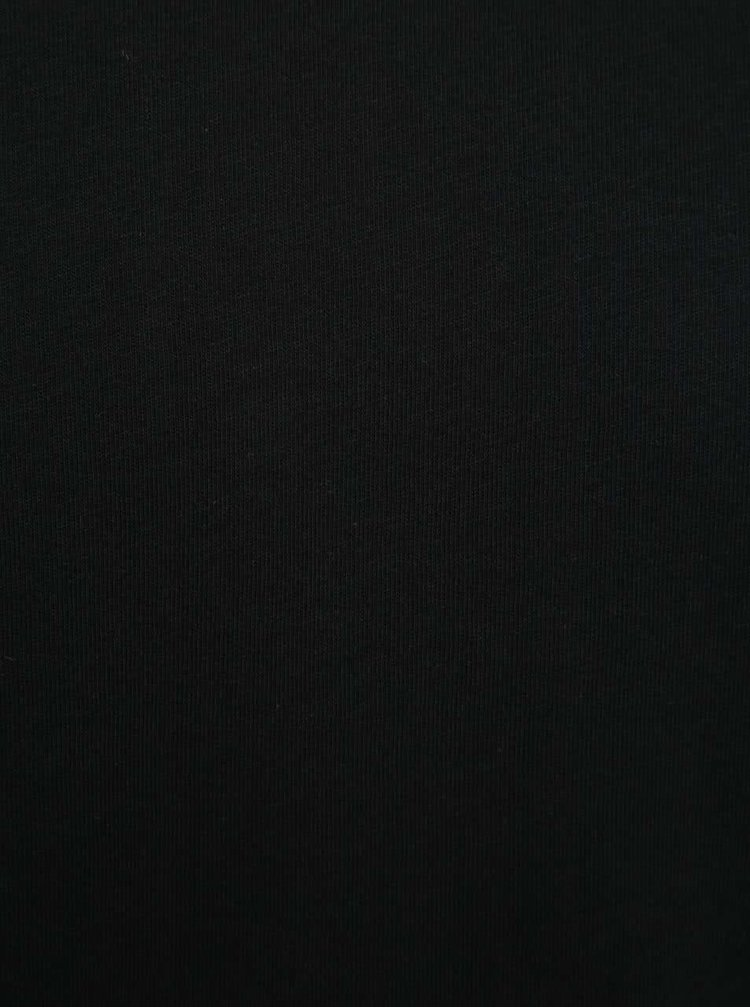 Tricou basic negru Jack & Jones Hugo