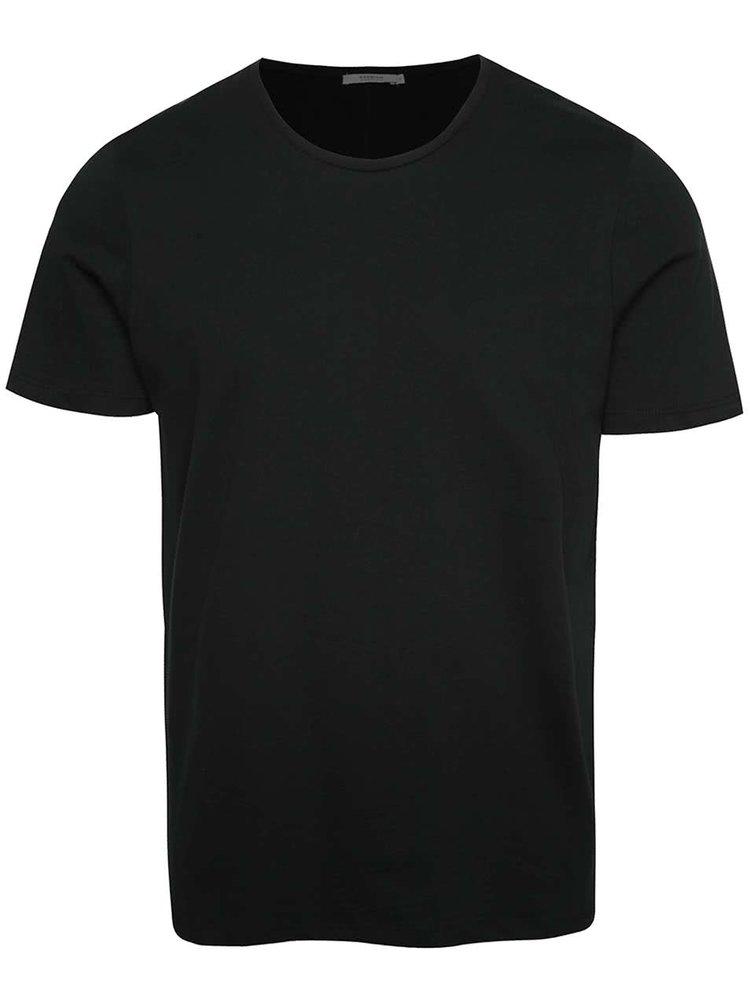 Černé basic tričko Jack & Jones Hugo