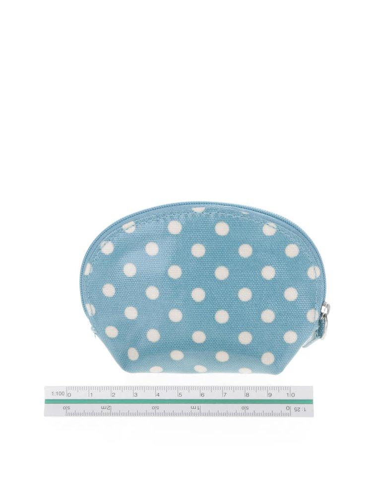 Modrá puntíkovaná peněženka na drobné Cath Kidston