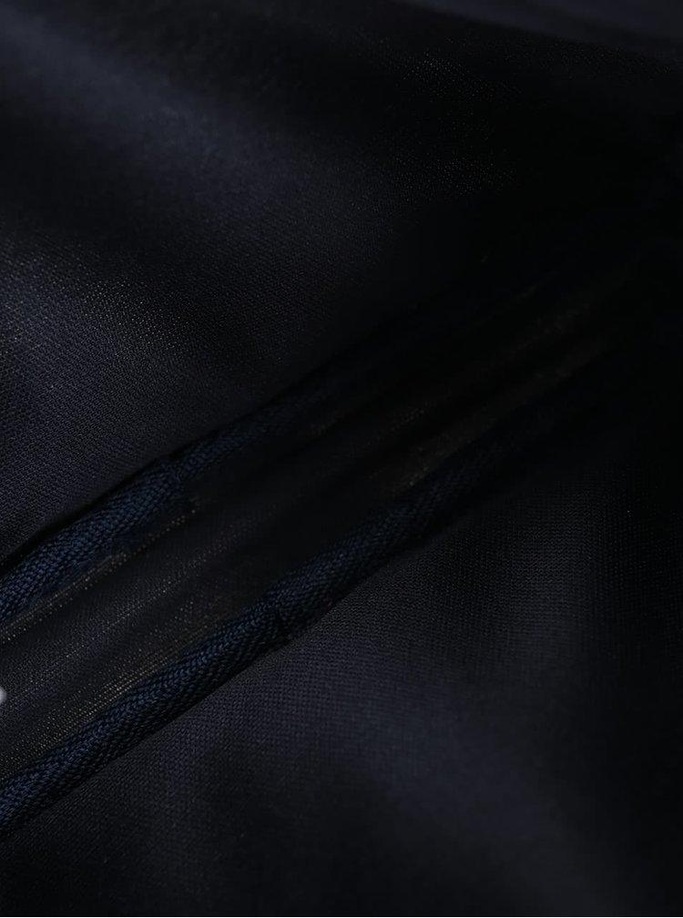 Tmavě modrá květovaná kosmetická taštička Cath Kidston