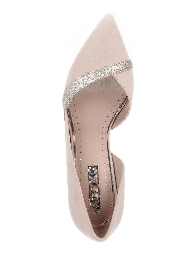 Pantofi roz pal Miss KG
