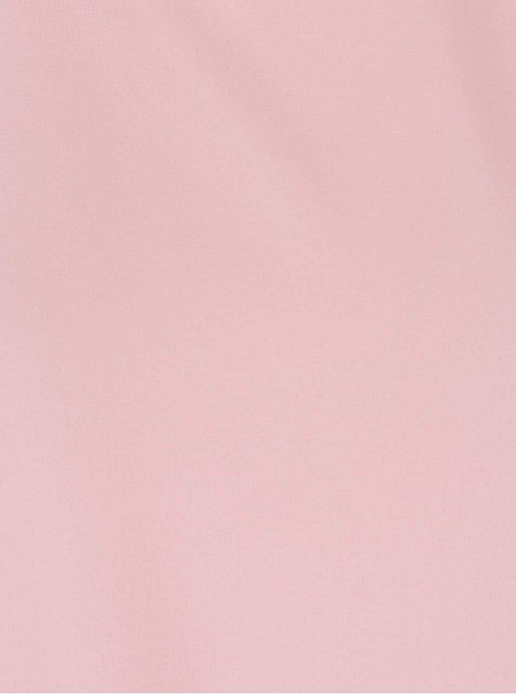 Růžová halenka s pásky na zádech Madonna Melike