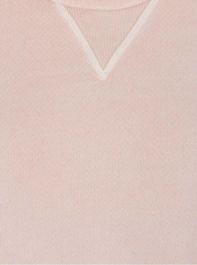 Rochie roz pal Maison Scotch din bumbac