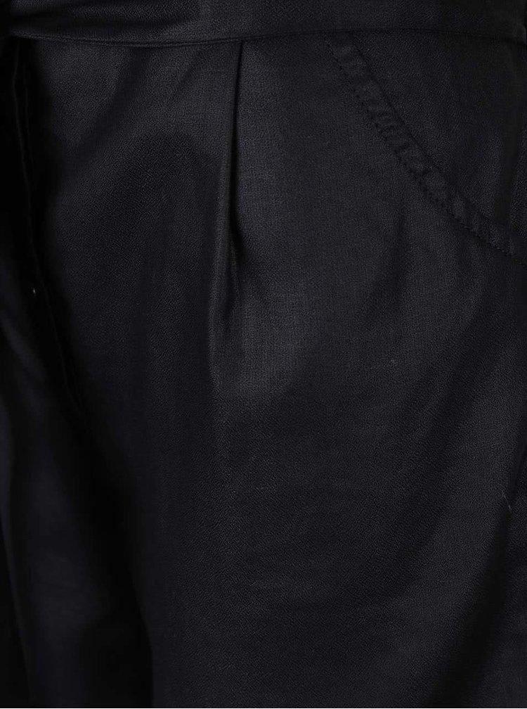 Černý overal se zavazováním v pase Scotch & Soda