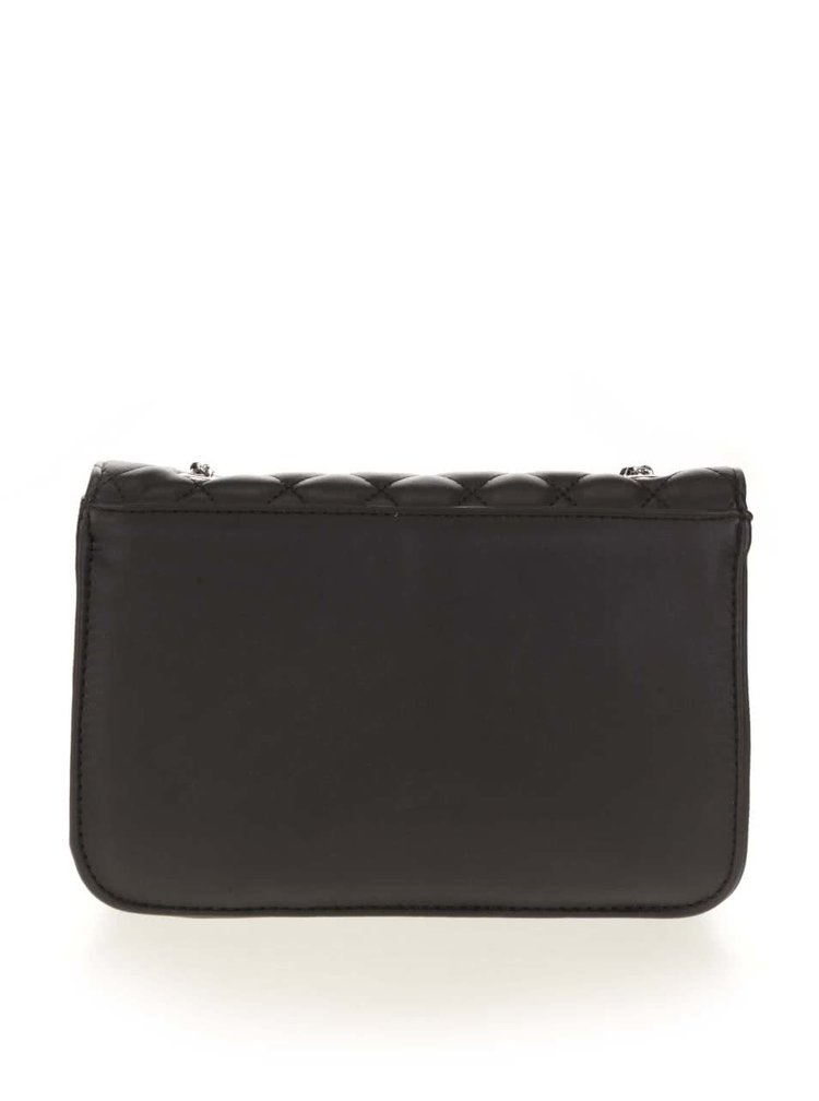 Geanta crossbody Pieces Miss neagra