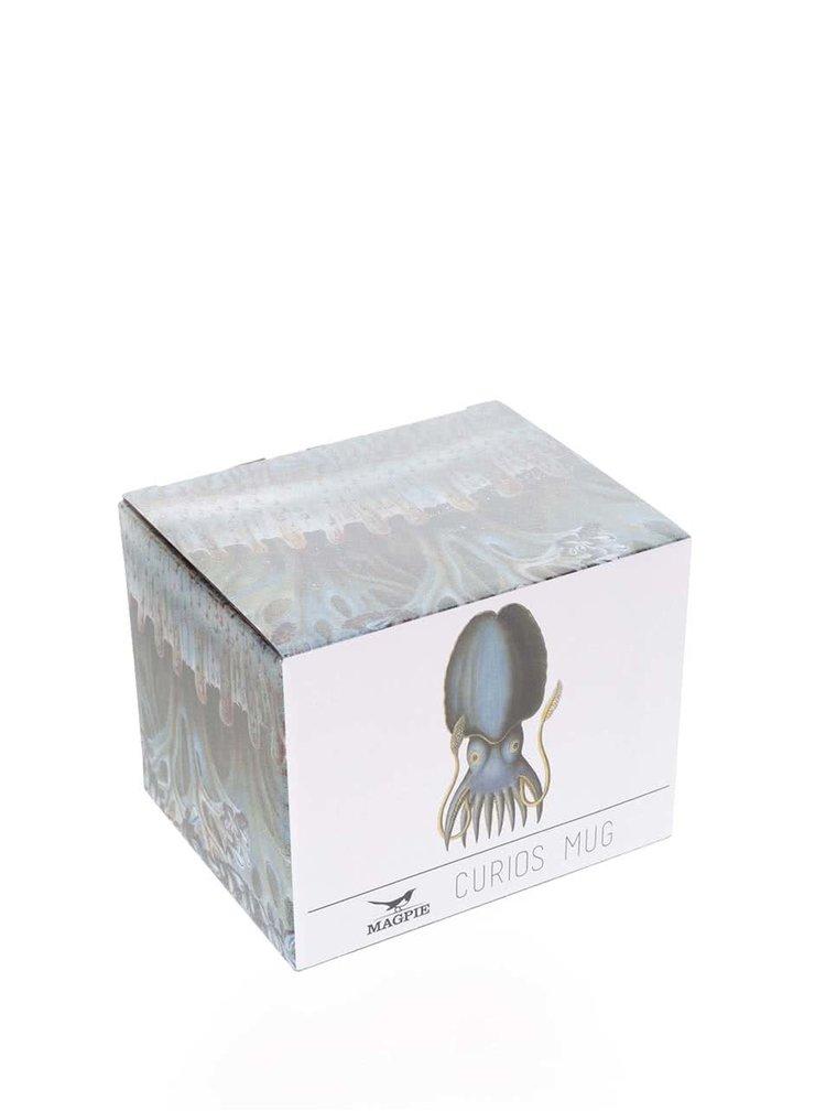 Cană cu imprimeu calamar Magpie Curios