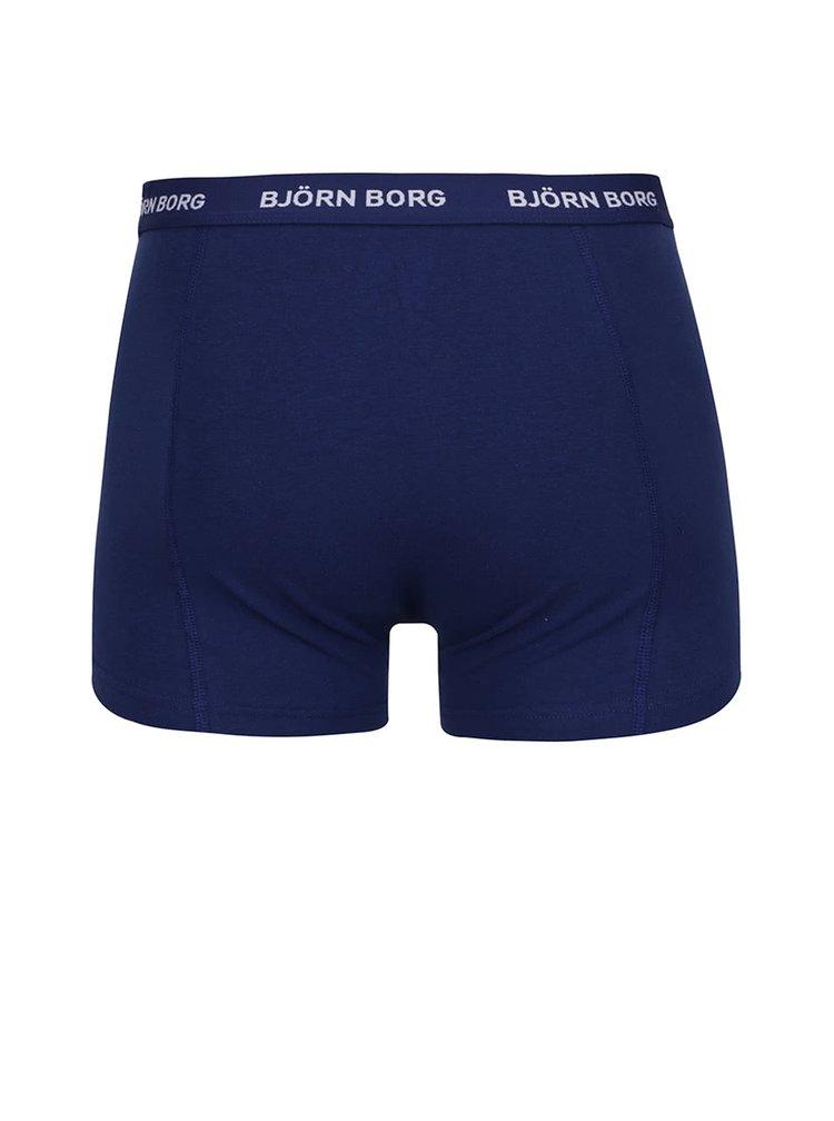 Set 3 perechi boxeri alb/bleumarin/negru Björn Borg