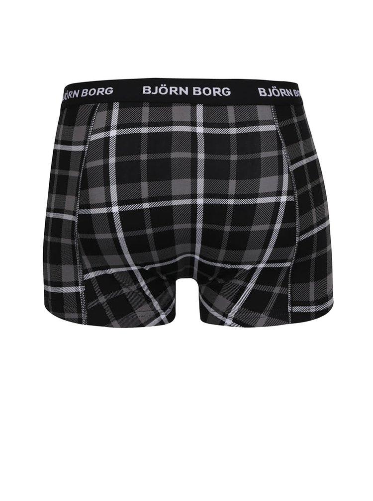 Sada tří boxerek v černé a bílé barvě  Björn Borg