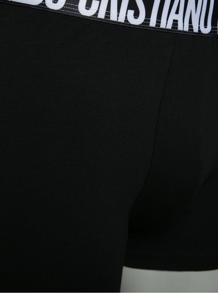 Sada dvou boxerek v bílé a černé barvě CR7