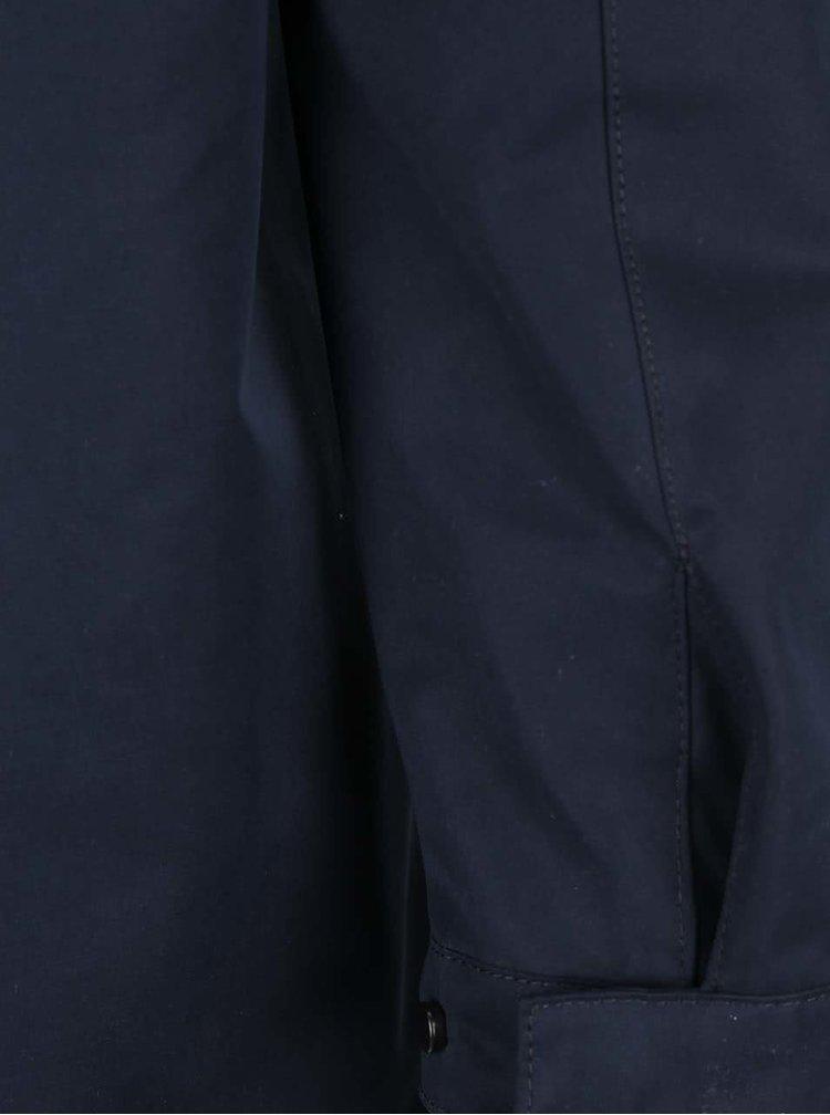 Jacheta albastra Selected Homme New Blake cu gluga