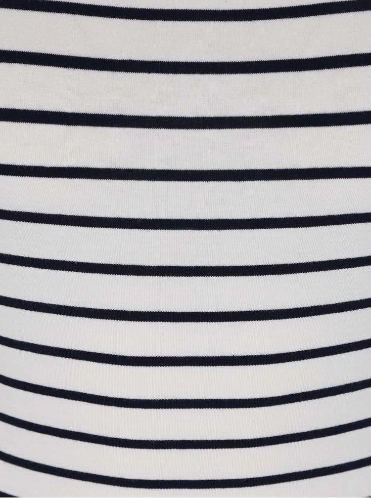 Modro-bílé pruhované tílko Haily's Cami Linda