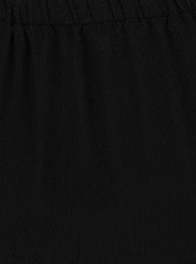 Bluză neagră Haily's Sunny cu mâneci 3/4