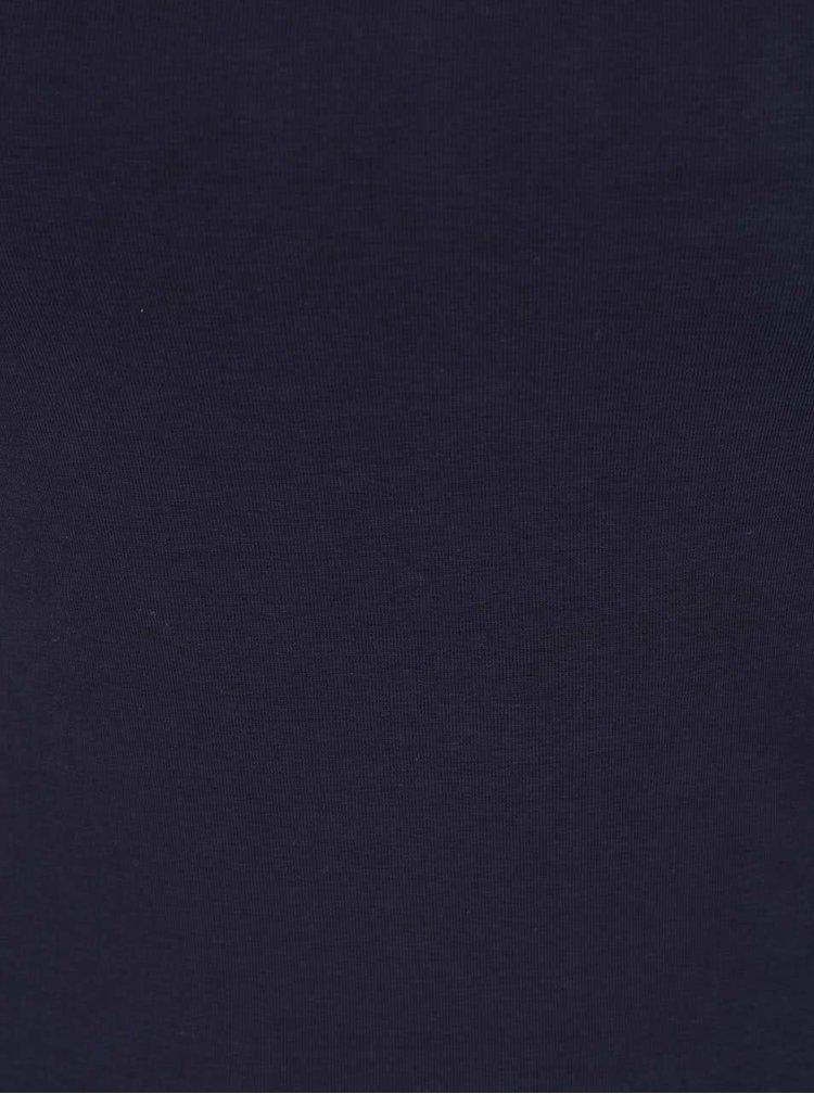 Modré tílko s úzkými ramínky Haily's Blair