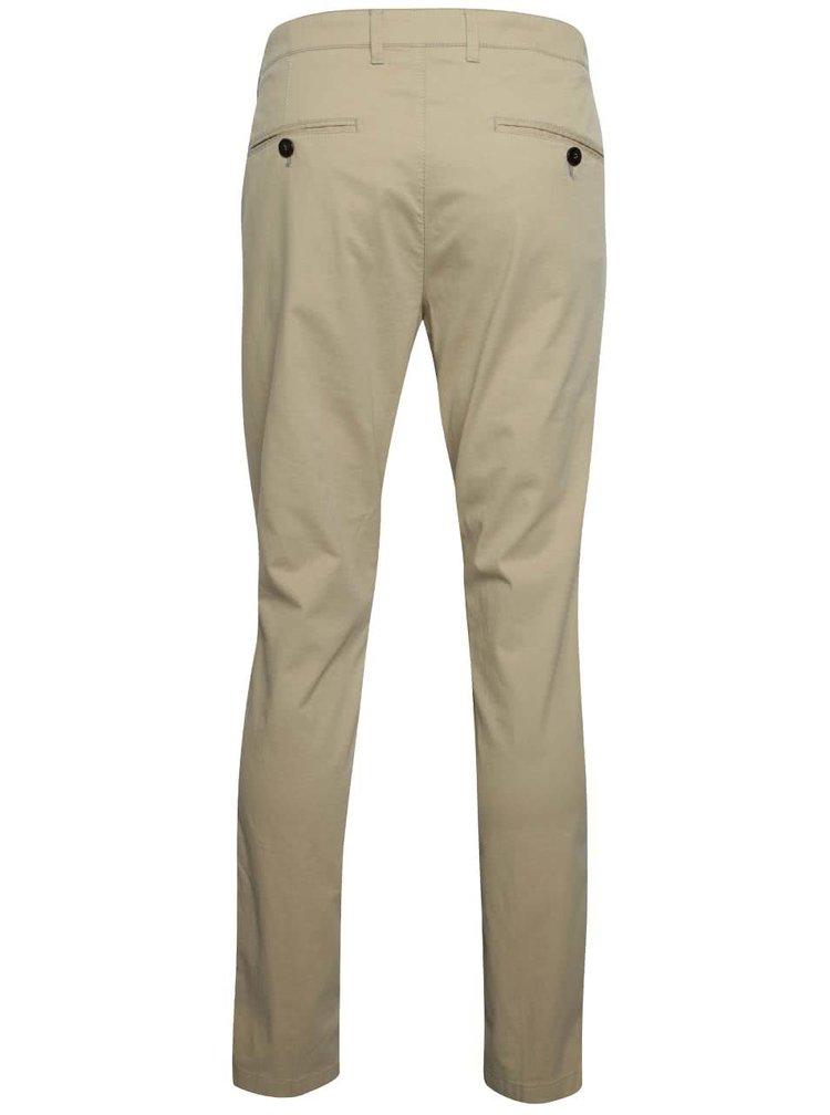 Béžové chino kalhoty Fynch-Hatton