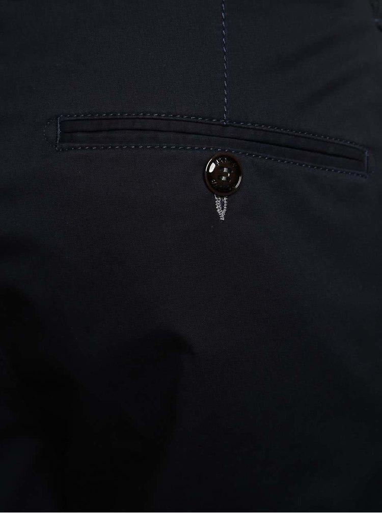 Tmavě modré chino kalhoty Fynch-Hatton