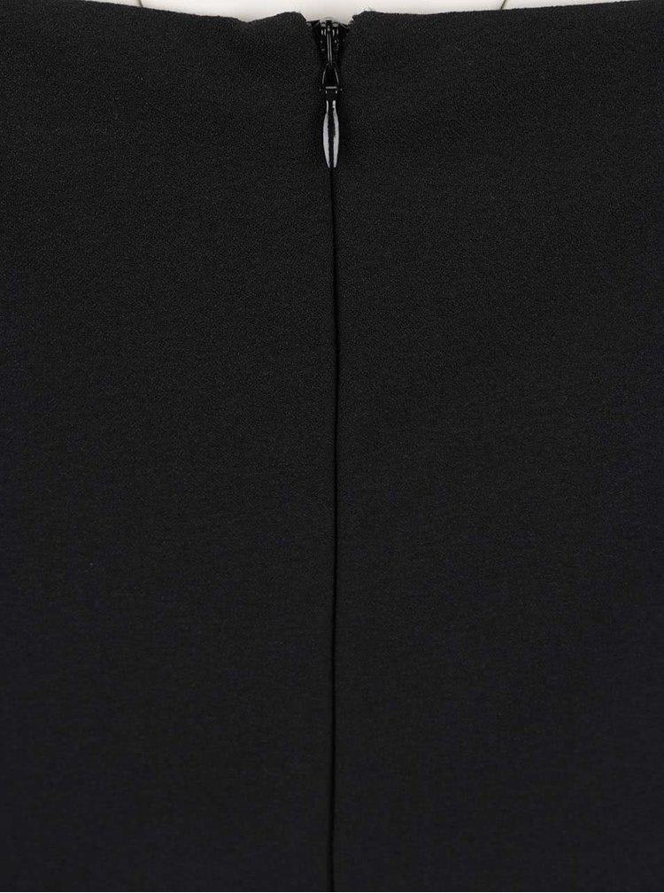 Černý overal s páskem Miss Selfridge