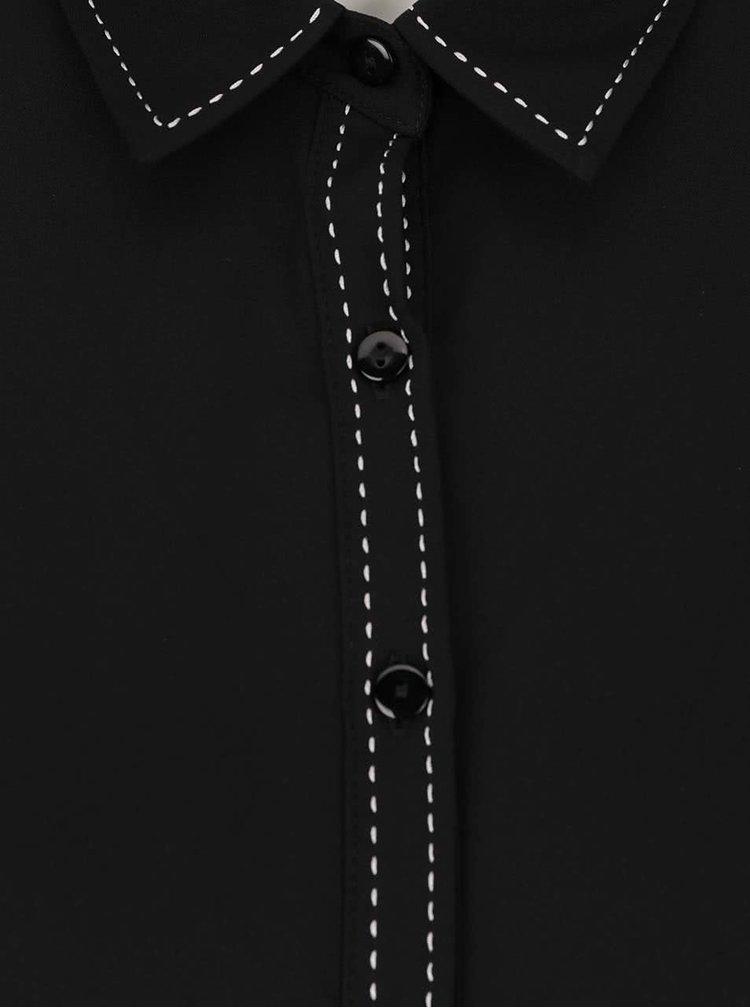 Camasa neagra Dorothy Perkins Petite