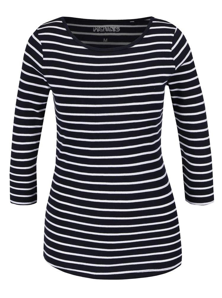 Bluză bleumarin Haily's Zora cu model în dungi