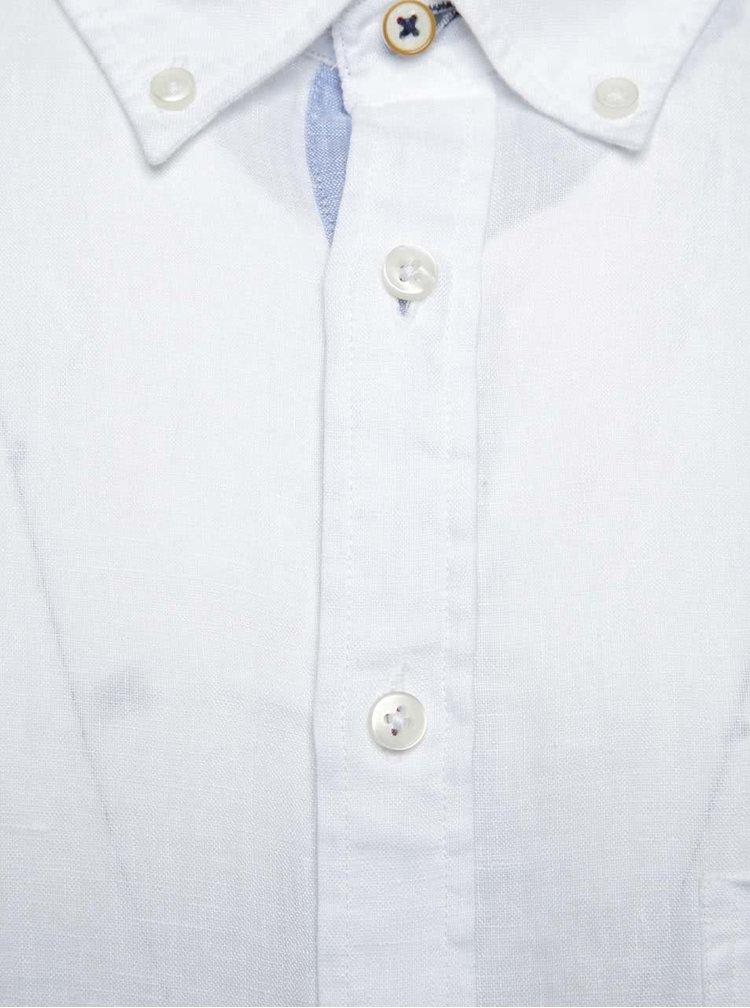 Bílá lněná košile Fynch-Hatton