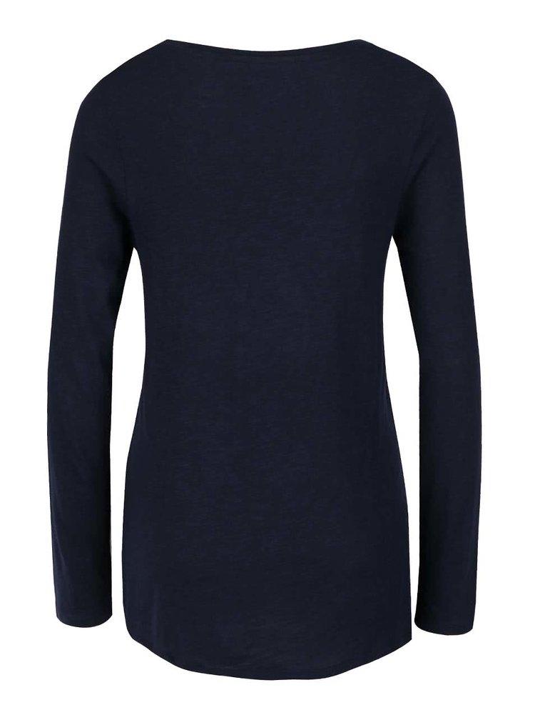 Tmavě modré lehké basic tričko Haily's Janne