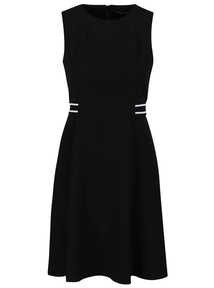Černé šaty bez rukávů Dorothy Perkins