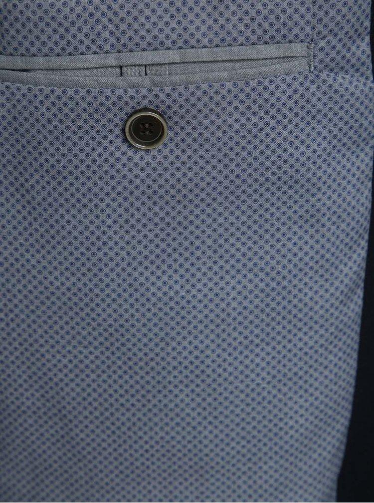 Tmavě modrý blejzr s kapsami Fynch-Hatton