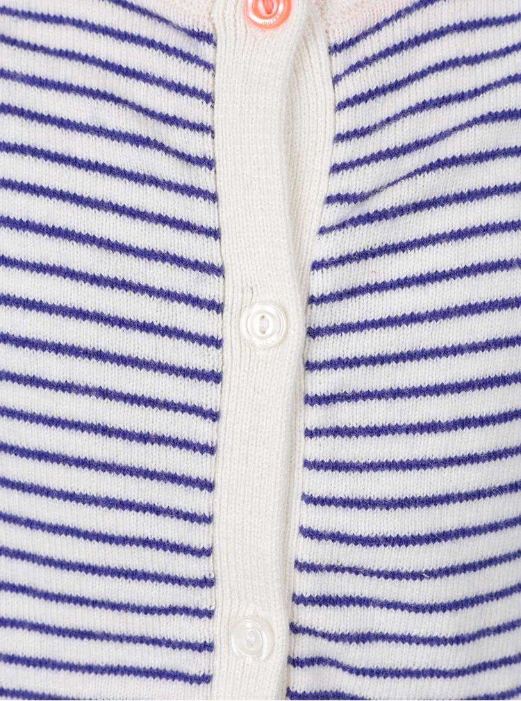Cardigan albastru de fete Tom Joule in dungi